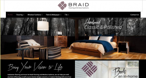 Saskatoon Website Design - Braid Flooring